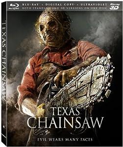 Texas Chainsaw [3D Blu-ray + Blu-ray + Digital Copy + UltraViolet] from Lionsgate