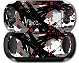 Sony PS Vita Skin Abstract 02 Red by WraptorSkinz