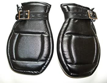 Lockable Padded Bondage Mitts