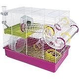 "Ferplast Hamster Cage, White, 11.61 x 14.76"""
