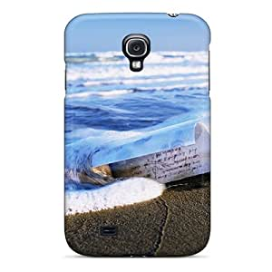 Durable Protector Case Cover With Letter In A Bottle On The Beach Hot Design For Galaxy S4