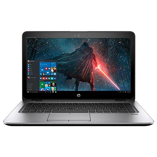 "2018 High Performance HP Business Elitebook Laptop PC 14"" HD+ Dispay AMD Quad-Core A10-8700P Processor 8GB RAM 256GB SSD HDMI Bluetooth Webcam Windows 10 Pro-Silver from HP"