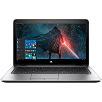 2018 High Performance HP Business Elitebook Laptop PC 14 HD+ Dispay AMD Quad-Core A10-8700P Processor 8GB RAM 256GB SSD HDMI Bluetooth Webcam Windows 10 Pro-Silver