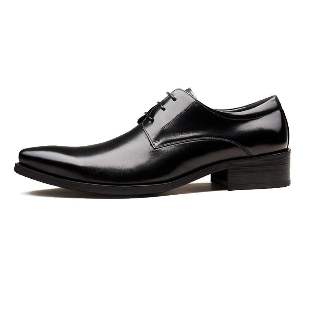 YCGCM Herrenschuhe Bequeme British Schnürsenkel Business Fashion Flut Schuhe Schnürsenkel British Spitz Casual schwarz 901f6d
