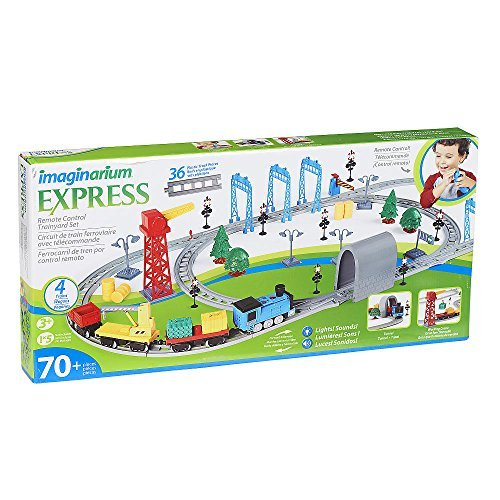 Imaginarium 70 Piece Railtech Trainyard Rail & Train Set