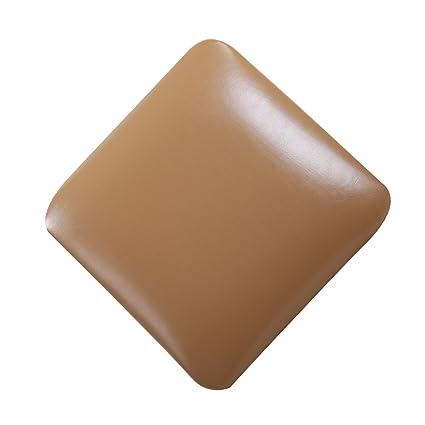 Tongli Metal Bartool Cushion Faux Leather Square Seat Cushion Chair Cushions  For Bar Or Kitchen