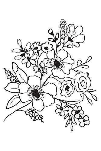 Prima Marketing Christine Adolf Cling Stamp: Fresh Flowers #2
