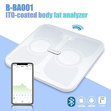Amazon.com: Analizador de grasa corporal, báscula de grasa ...