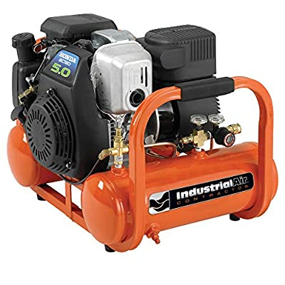 Industrial Air Contractor CTA5090412 4-Gallon Grade Direct Drive Pontoon Air Compressor with Honda Engine from Industrial Air