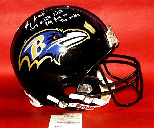 Ray Rice Autographed Helmet - Fs Proline Authentic Insc - JSA Certified - Autographed NFL Helmets