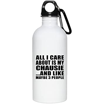 Designsify Botella de Agua de Acero Inoxidable con Aislamiento para Gatos, Ideal como Regalo para Amantes ...
