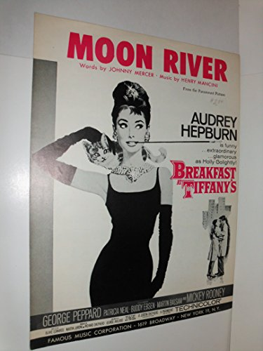 Moon River Sheet Music from Breakfast at Tiffany's - Audrey Hepburn Cover Moon River Piano Sheet Music