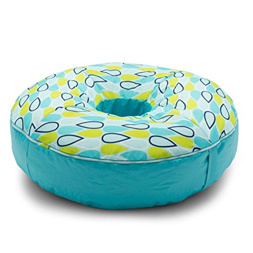 Cool Geo Drop Bean Bag, Multicolor (Geo Pool Bag)