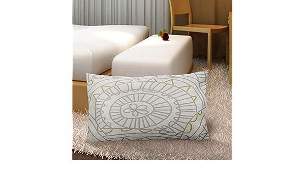 Amazon.com: Simple Blue Stripes Cushion Cover Nordic Wave ...