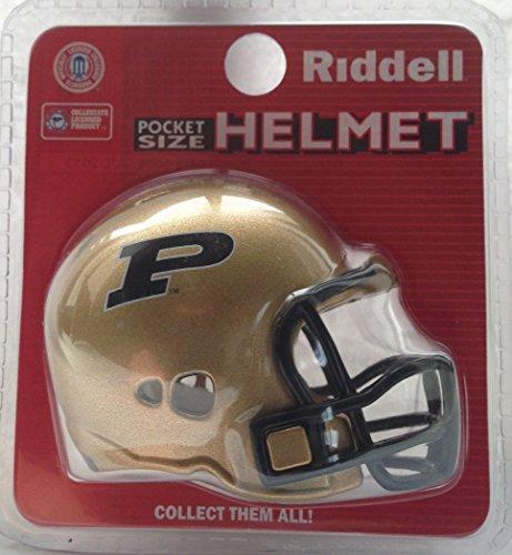 (Riddell Purdue Boilermakers NCAA Football Helmet Christmas Tree DIY Ornament)