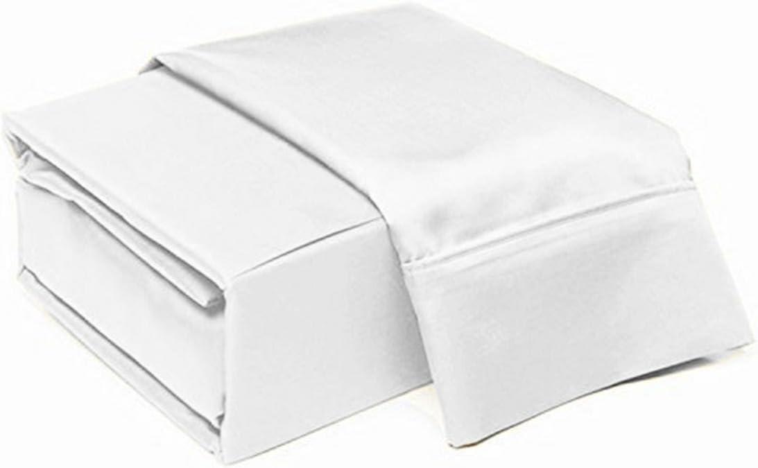 VGI Linen Split-Queen: Adjustable Queen Bed Sheets 5PC Set (2 Fitted Sheet Fits 14-15
