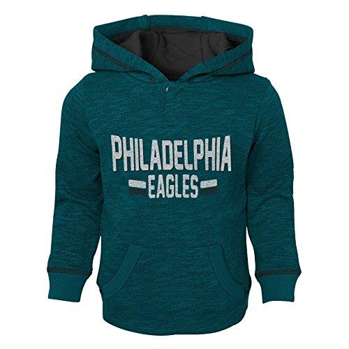 Outerstuff NFL Philadelphia Eagles Kids & Youth Boys Tiny Linemen Slub Fleece Hoodie, Jade, Youth Large(14-16)