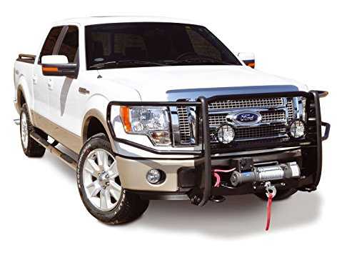(Go Rhino! 23921MB Winch Bumper with Brush Guard)