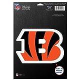 NFL Cincinnati Bengals 83715010 Die Cut Logo Magnet, Small, Black