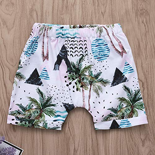Lavany Baby Boys Girls Outfits 2pc Short Sleeve Beach Print Tops+Shorts Clothes Set White by Lavany (Image #3)