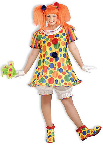 Giggles The Clown X-Large Costume (Adult X-Large 18-22)