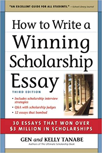 Help with writing a scholarship essay
