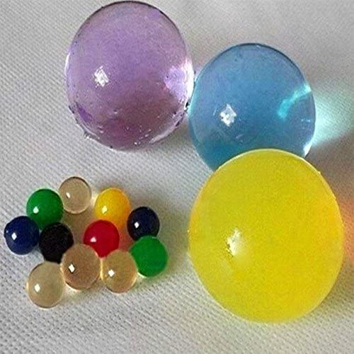 Ainolway Large Water Beads 8 Oz Growing Gel Balls Jelly Crystal About 200 Pcs