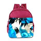 Toddler Kids Blue Exorcist School Backpack Fashion Baby Boys Girls School Bags Pink