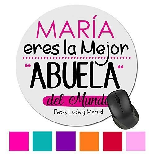 Alfombrilla Raton Ordenador Abuela/Personalizado/Regalo ...