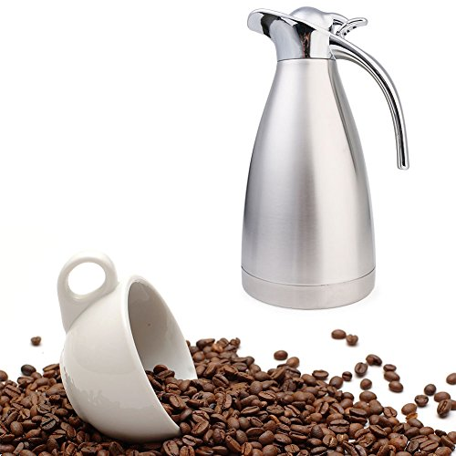 Ailler Jarra Aislamiento Térmico Termo de Café, anti-goteo, anti-quemaduras, La cafetera de aislamiento Pote del Café...