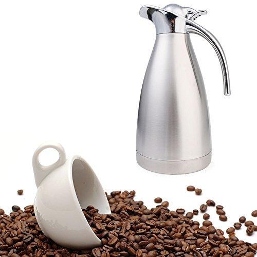 Ailler Jarra Aislamiento Térmico Termo de Café, anti-goteo, anti-quemaduras, La cafetera de...