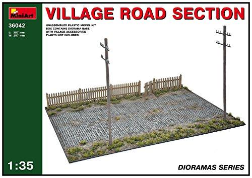 (Mini Art Plastics Village Road Section)