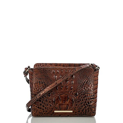 Brahmin Carrie Crossbody, Pecan from Brahmin
