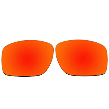 b106df98cb ACOMPATIBLE Gafas de Sol Lentes de Repuesto para Oakley Big Taco OO9173,  Fire Red Mirror - Polarized: Amazon.es: Deportes y aire libre