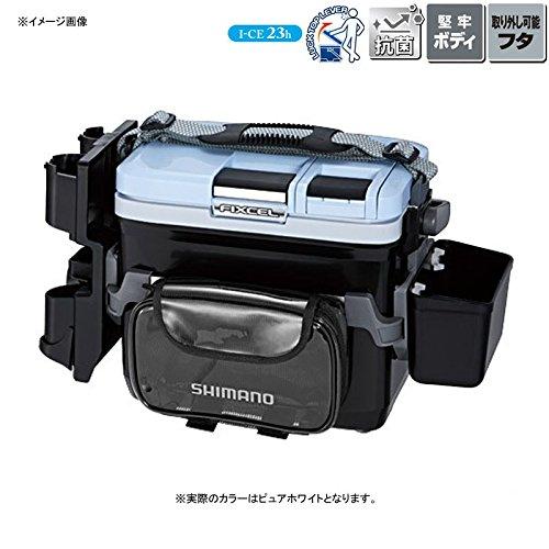 シマノ クーラーボックス フィクセル ライトゲームスペシャル II 90 ピュアホワイト LF-L09P B0197MKQVO