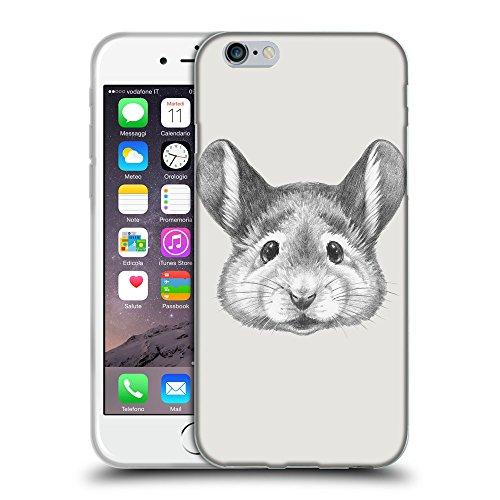 """GoGoMobile Coque de Protection TPU Silicone Case pour // Q05410631 Souris portrait Platine // Apple iPhone 6 PLUS 5.5"""""""