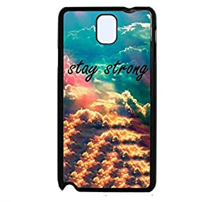 "Note 3 Case,LYYF New Fashion and High Quality the ""Stay Strong ""Hard Case/cover for Samsung Galaxy Note 3"