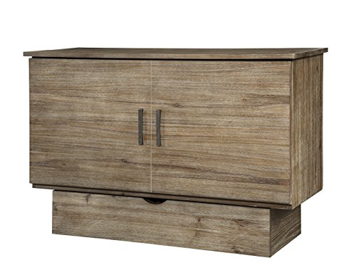 Arason Enterprises Inc. Sadie Grey Ash Cabinet with Pull-Out Queen-Size Bed ()