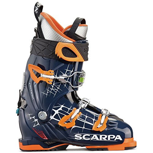 Scarpa Touring Boots Ski (Scarpa Freedom Ski Boot - Midnight/Orange 29.5)