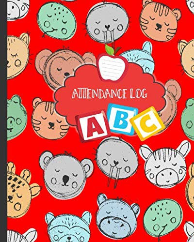 Attendance Log: Child Care Facility Daily Register