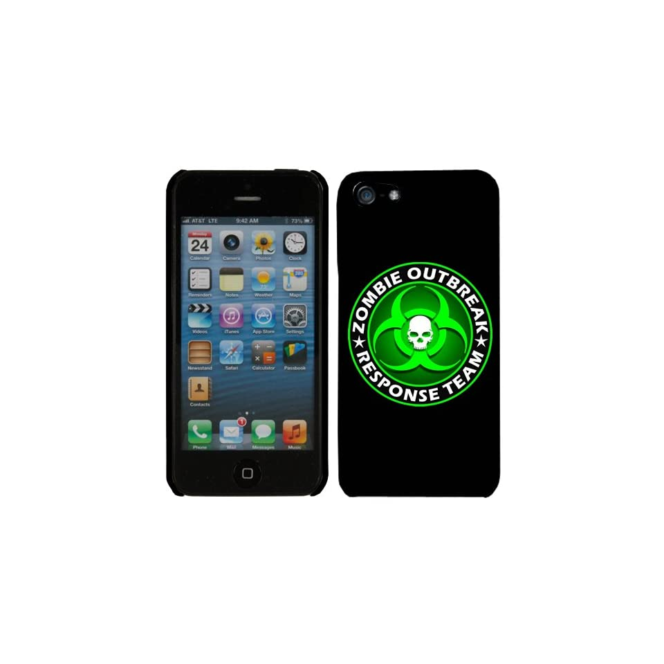 Apple iPhone 5 Zombie Outbreak Response Team Green Phone Case Cover