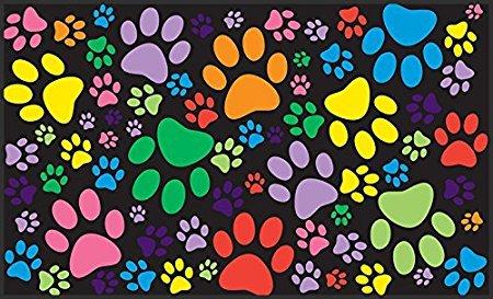 tslook-doormat-garden-puppy-paws-indoor-outdoor-front-welcome-door-mat30x18l-x-w