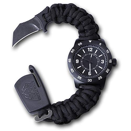 Outdoor Edge OEPW90Z-BRK Paraclaw CQD Watch Large