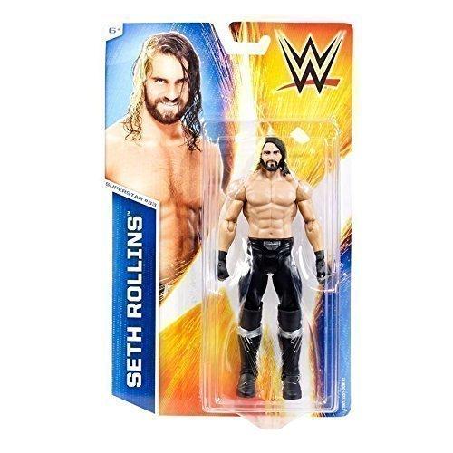NEW SETH ROLLINS CURB STOMP BASIC SERIES 50 NXT FIGURE WWE WRESTLING MATTEL WWF by WWE by MATTEL