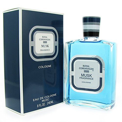 - Royal Copenhagen Musk By Royal Copenhagen For Men, Cologne Splash 8 Ounces