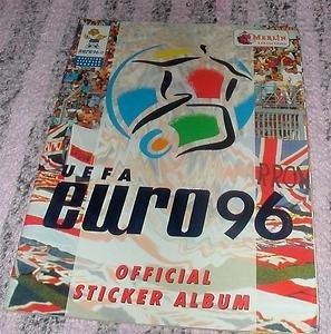 U.E.F.A Euro 96 Official Sticker Album
