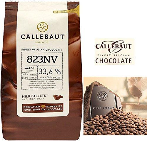 Callebaut Milk Callets 33.6 % (2 lb) ()