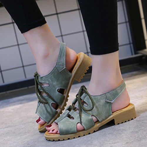 SANFASHION SANFASHION 144155 Romana Bekleidung Piel de Verde Damen Lisa Schuhe Mujer 1qI1r5