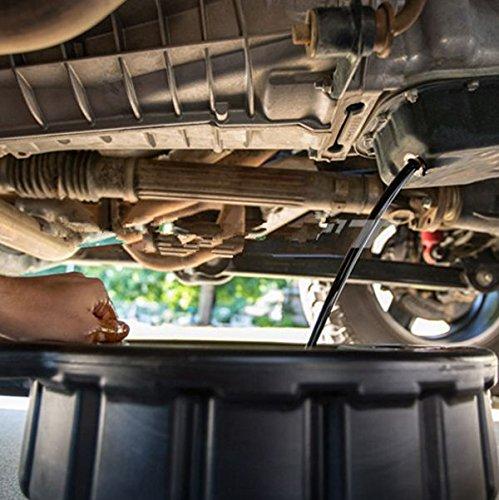 Cikuso 7.5L Drenaje de plastico Pan Wast motor Tanque de colector cambios de aceite viaje Para la reparacion Cambio de fluido de combustible del coche Herramienta de garaje