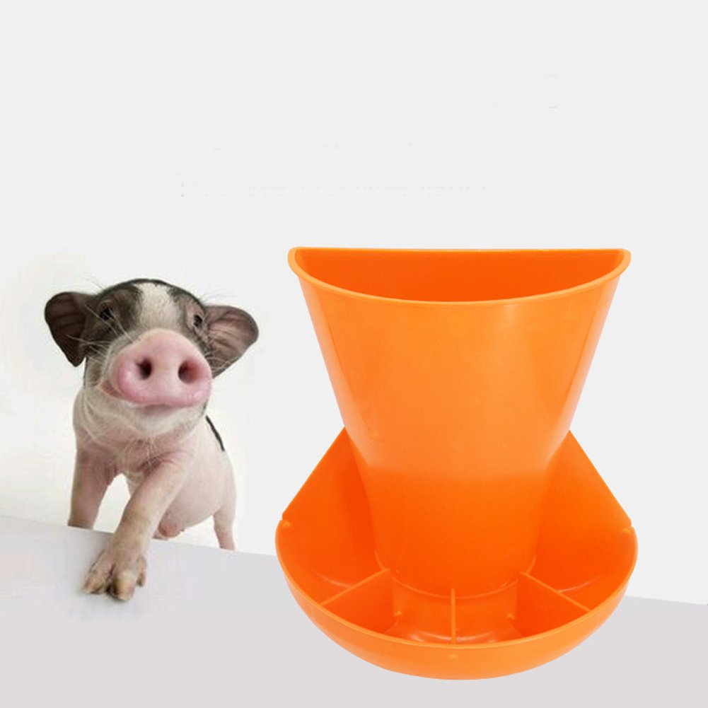 The pig trough Pig equipment instrument with thick wall hanging combined piglets feeding trough obstetric table feed trough